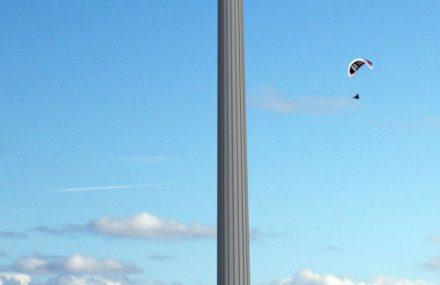 'Betonprijs 2015' pour la tour radar située sur l'île de Neeltje Jans