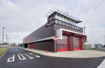 Liège-Airport – Entrée zone Fret Nord