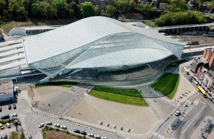 The new Guillemins station, Liège