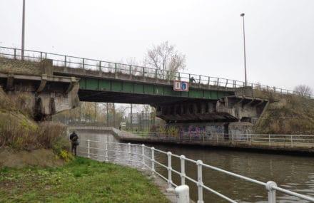 Anderlecht : réhabilitation des ponts de la Petite Ile