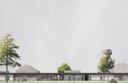 """Templeuve (Tournai) – construction of a specialized secondary school """" Le Trèfle """""""