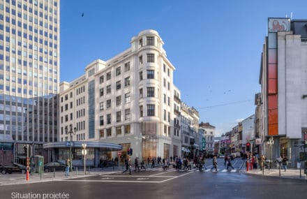Brussels – start of the works of Elite House