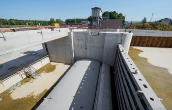 Remplacement du barrage de Kain