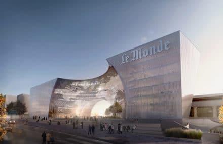 Paris : construction d'un nouveau siège social pour le journal Le Monde