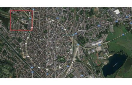 Ontwerp van een fietsbrug en een wegbrug tussen de Keerdok en Eandissite in Mechelen