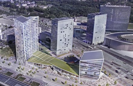 Luxembourg – Project Infinity – Gateway to Europe in Kirchberg