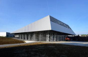 Radermecker à Milmort – hall de stockage pour produits chimiques
