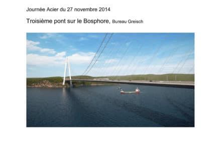 Le troisième pont sur le Bosphore
