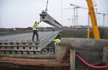 Important chantier sur l'A602, à Liège, pour construire un pont