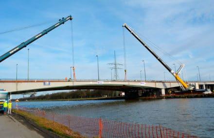 Réhabilitation et élargissement des viaducs de Cheratte
