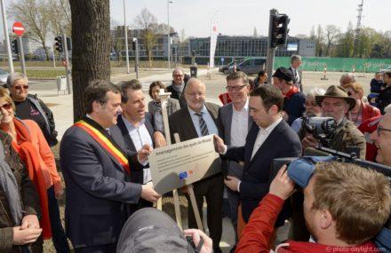 Inauguration des quais sur Meuse à Liège