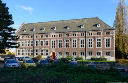 Rénovation des toitures de l'Abbaye du Val Benoît à Liège