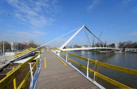 CERES conference « The new foot and cyclebridge of Liege »