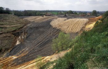Liege-Airport – sand excavation site Lemaire