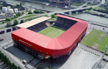 Standard stadium in Liege
