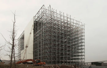 Rack supported building Lutosa
