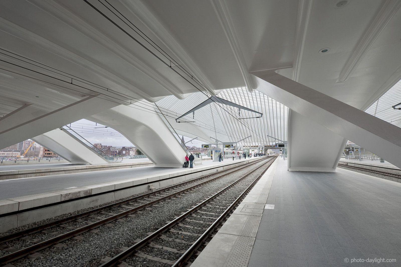 Bureau Greisch Li 232 Ge Guillemins Railway Station