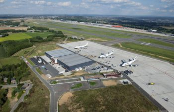 Liege-Airport – working zone Cargo north