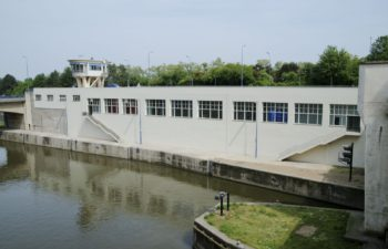 Former workshops of the locks of Lanaye