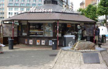 Place Jourdan à Etterbeek