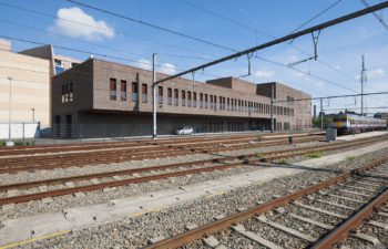Signal box of Liege