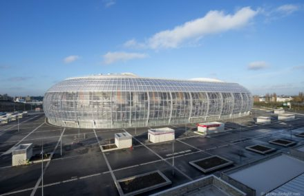 Euro 2016 : Lille arena a little bit from Liège