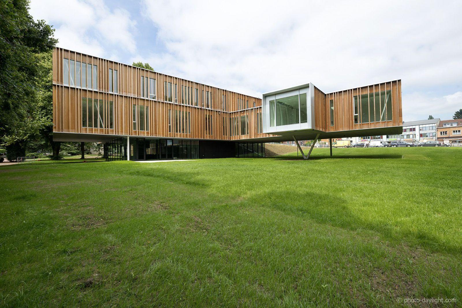 Bureau greisch concours construction acier - Piscine de montigny ...