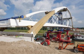 Polbrug bridge in Zutphen