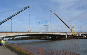 Réhabilitation et élargissement  des viaducs de Herstal