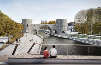 Seine-Scheldt waterway – Upgrade of the Scheldt in Tournai
