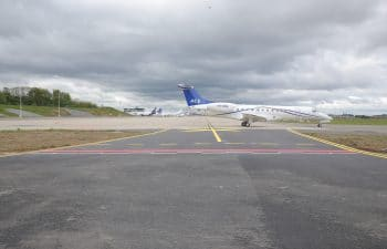 Liege-Airport – General and business aviation parking areas