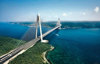 Yavuz Sultan Selim bridge, third Bosphorus bridge