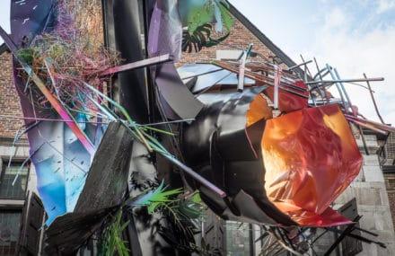 Une sculpture d'Arne Quinze à Liège