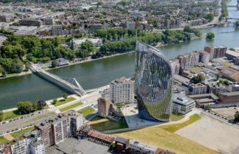 Financiën toren in Luik