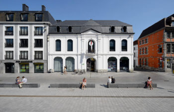 City centre of Tournai