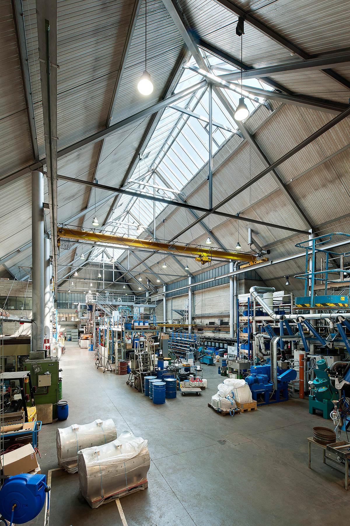 Bureau greisch glazen dak van het crm in luik - Verriere dak ...