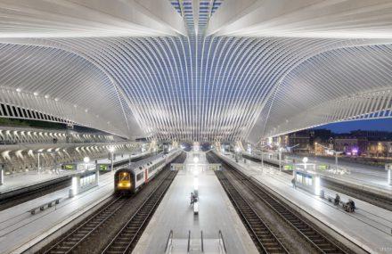 La nouvelle gare TGV des Guillemins à Liège