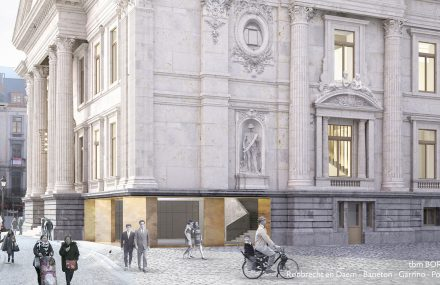 The transformation of the Brussels stock exchange to a beer temple has started