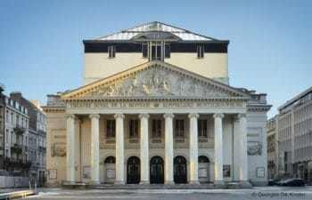 Rénovation du Théâtre de la Monnaie à Bruxelles