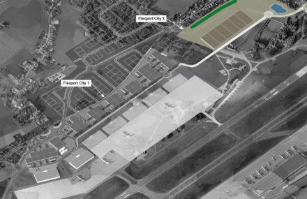 Liege Airport : début des travaux de Flexport City 3