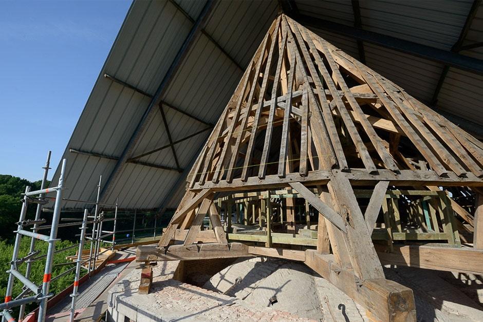 Bureau greisch amay restauratie en herbestemming van de abdijkerk van abdij paix dieu - Bureau van de uitbreiding ...