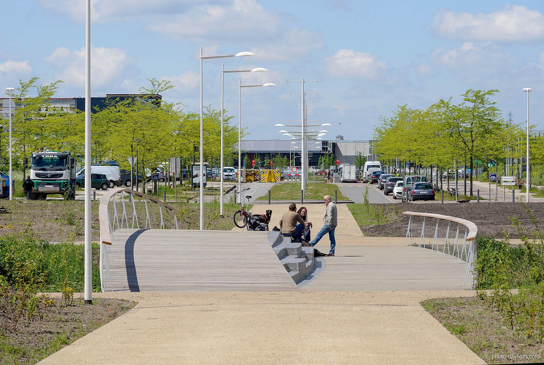 Bureau Greisch - Fiets- en voetbrug naar het ...