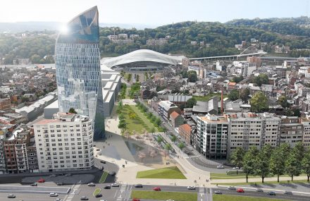 Le projet du tram de Liège a reçu le Grand Prix de l'Urbanisme 2017