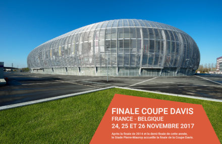Lille – Davis cup final at the Pierre Mauroy stadium