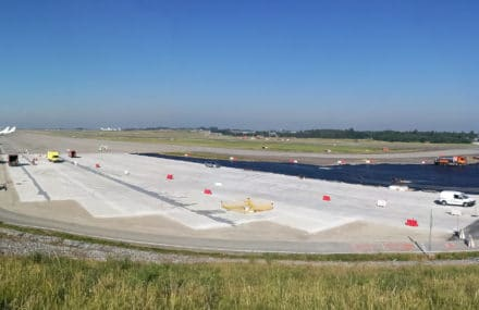 Liège – creation of three new aircraft parking stands