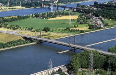 Uplift of the Lixhe bridge: bureau Greisch busy to analyse the stability of the structure