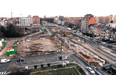 Brussel – renovatie van de Reyers-tunnel E40-Meiser