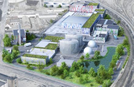 Mise à niveau de la station d'épuration de Bruxelles Sud