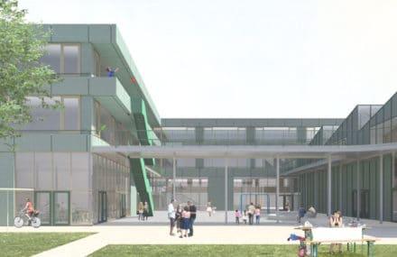 Un nouveau complexe scolaire pour le CERIA à Anderlecht