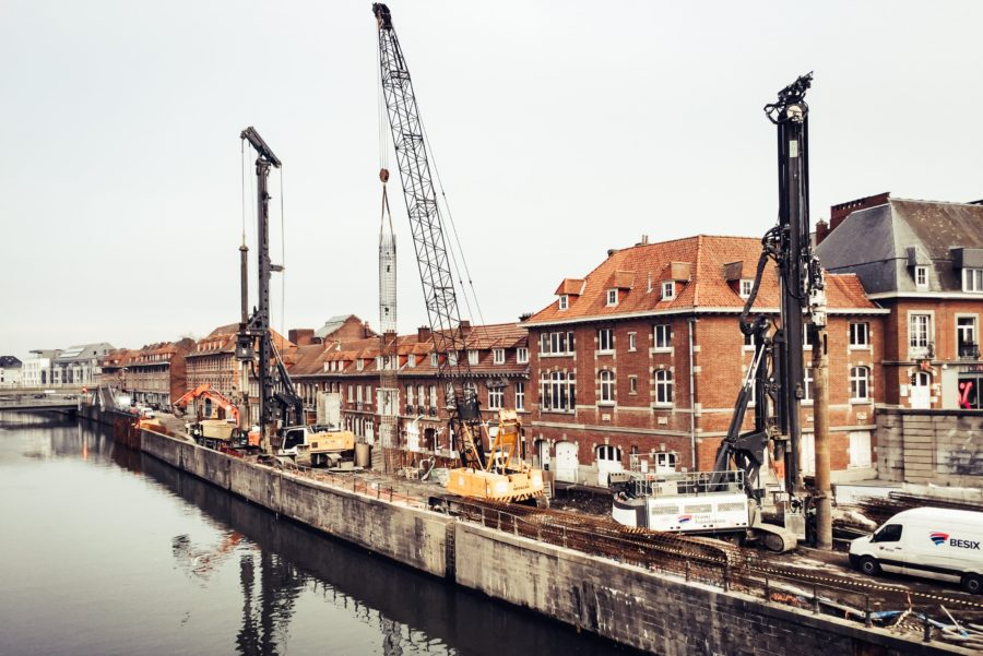 Tournai : l'élargissement de l'Escaut avance à grands pas